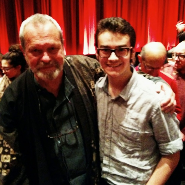 Meeting Terry Gilliam after a screening of Brazil at the BFI Southbank.